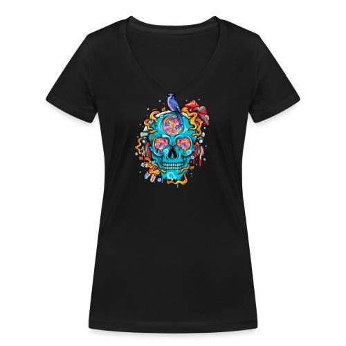 Bad Trip - Frauen Bio-T-Shirt mit V-Ausschnitt von Stanley & Stella