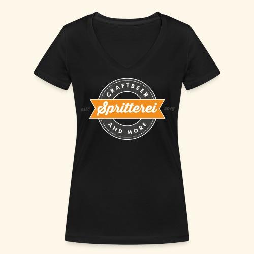 Spritterei 4096x2707 png - Frauen Bio-T-Shirt mit V-Ausschnitt von Stanley & Stella