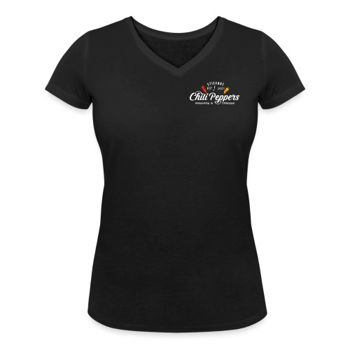 logga vit nyaste png - Ekologisk T-shirt med V-ringning dam från Stanley & Stella