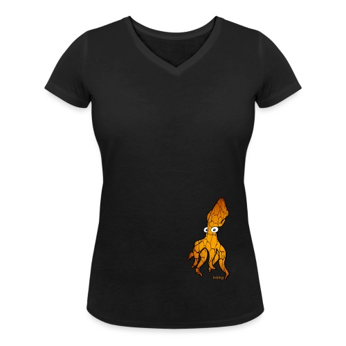 Bio Tshirt Squidder Trucmuche LUI - T-shirt bio col V Stanley & Stella Femme