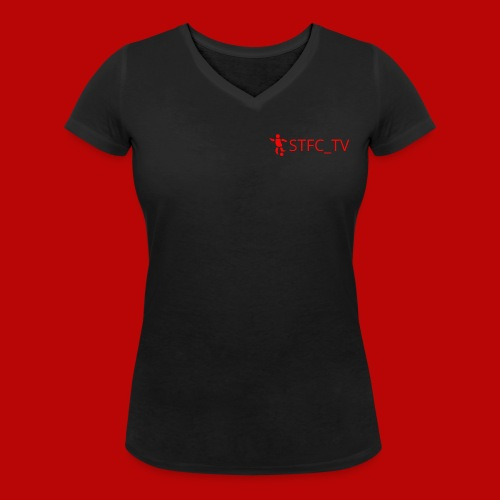STFC_TV - Women's Organic V-Neck T-Shirt by Stanley & Stella