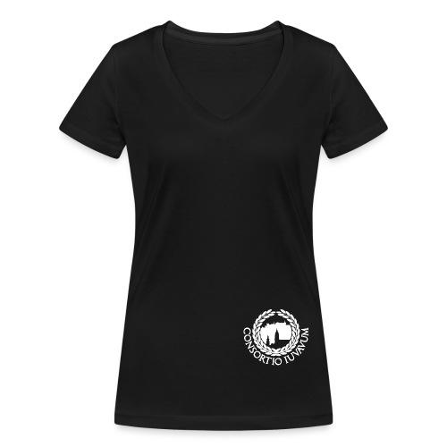 Logo Consortio Iuvavum - Frauen Bio-T-Shirt mit V-Ausschnitt von Stanley & Stella