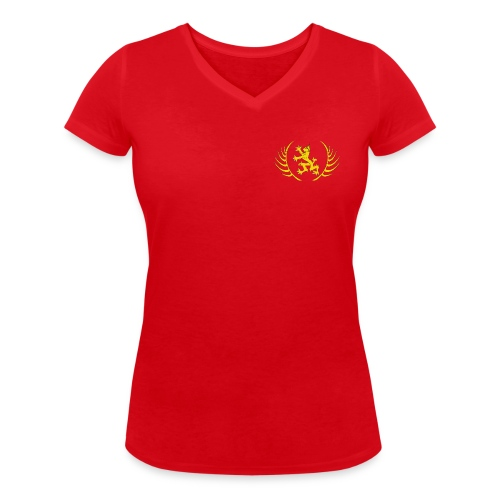 Schola Logo T Shirt transparent v2 png - Women's Organic V-Neck T-Shirt by Stanley & Stella