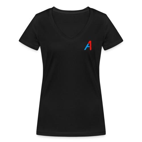 A1 Merch - Frauen Bio-T-Shirt mit V-Ausschnitt von Stanley & Stella