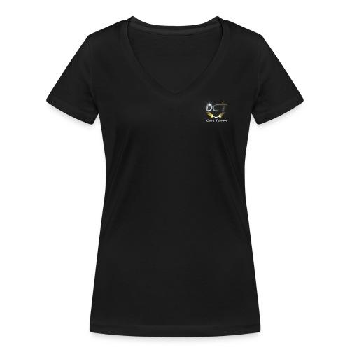 DCT_LOGO - Frauen Bio-T-Shirt mit V-Ausschnitt von Stanley & Stella