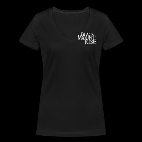 BMR Schriftzug png ws - Frauen Bio-T-Shirt mit V-Ausschnitt von Stanley & Stella