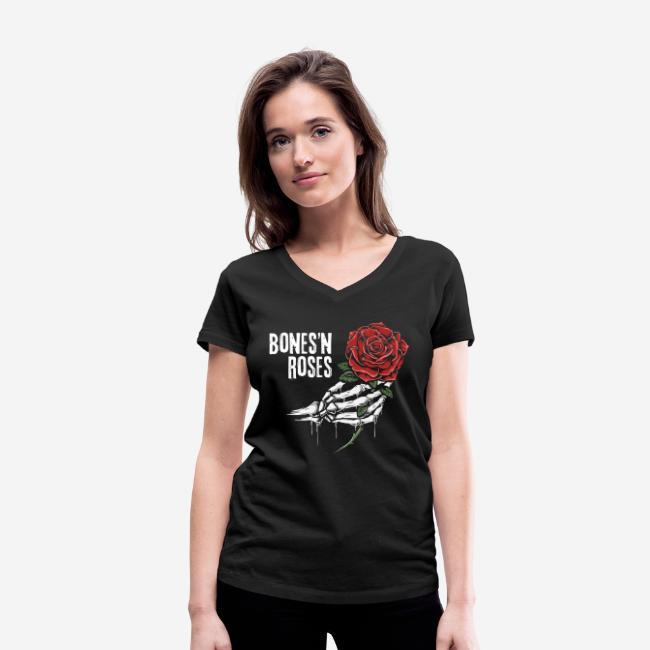 Schädelknochen Rosen