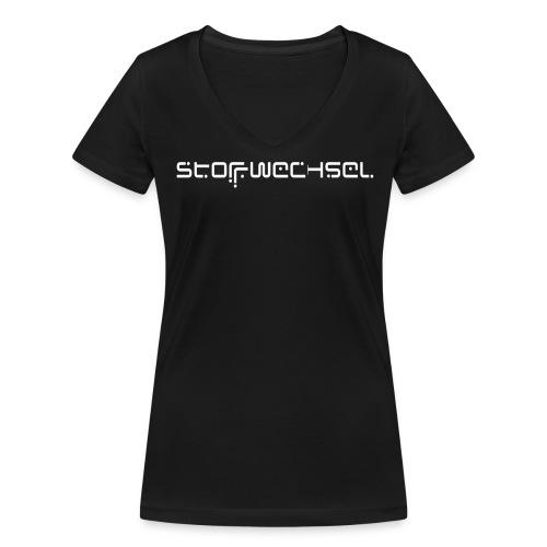 STOFFWECHSEL HOODIE - Frauen Bio-T-Shirt mit V-Ausschnitt von Stanley & Stella