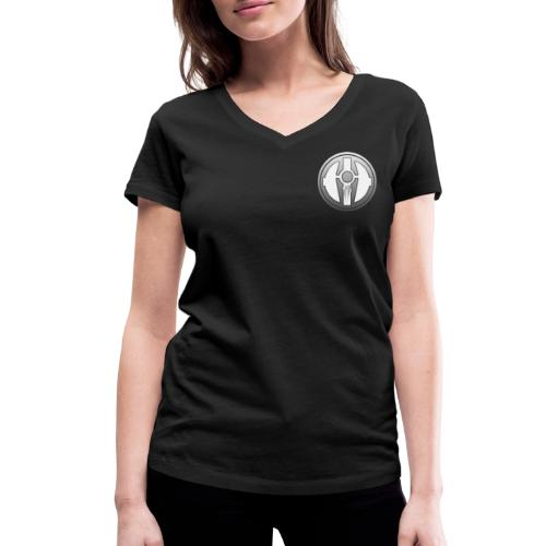 BDL logo - Stanley & Stellan naisten v-aukkoinen luomu-T-paita
