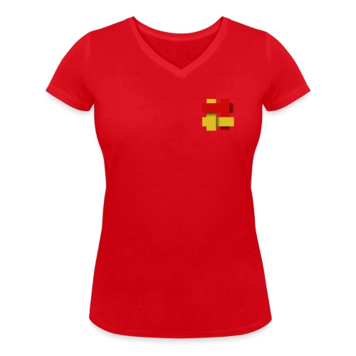 The Kilted Coaches LOGO - Women's Organic V-Neck T-Shirt by Stanley & Stella