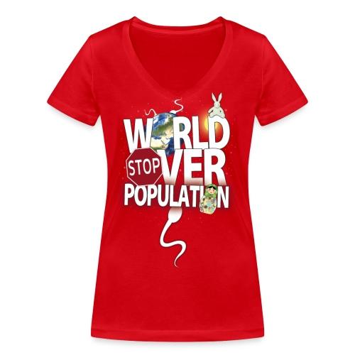 NON MAIS ALLO QUOI - T-shirt bio col V Stanley & Stella Femme