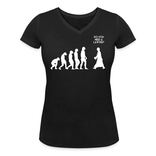 evolution lawyer - T-shirt bio col V Stanley & Stella Femme