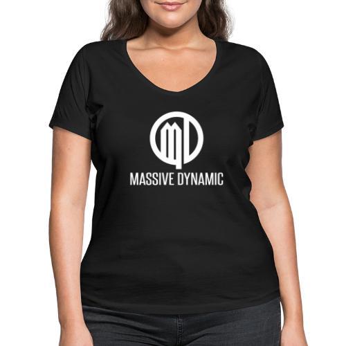 Massive Dynamic - Frauen Bio-T-Shirt mit V-Ausschnitt von Stanley & Stella