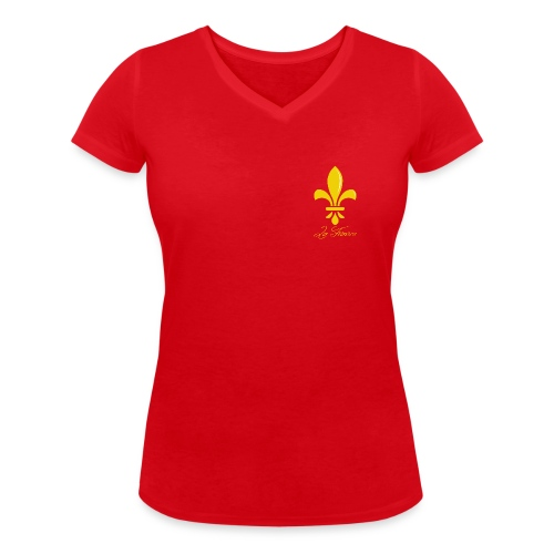 Les racines - T-shirt bio col V Stanley & Stella Femme