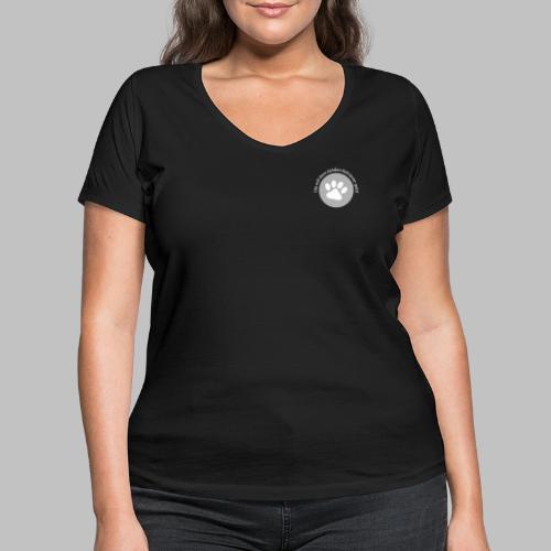 Die mit dem Golden Retriever geht - Frauen Bio-T-Shirt mit V-Ausschnitt von Stanley & Stella
