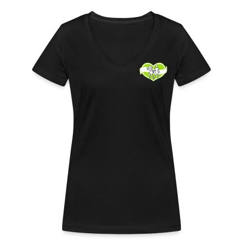 Spreadshirt - Ekologisk T-shirt med V-ringning dam från Stanley & Stella