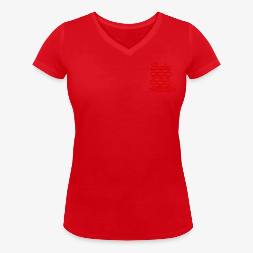 Psalm collective - Women's Organic V-Neck T-Shirt by Stanley & Stella