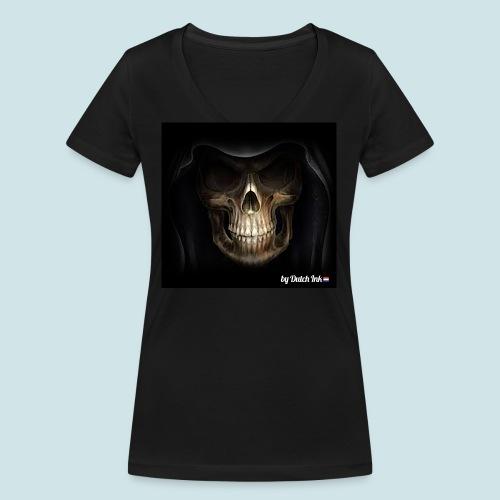 skull3 png - Vrouwen bio T-shirt met V-hals van Stanley & Stella