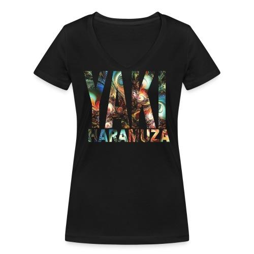 YAKI HARAMUZA BASIC HERR - Ekologisk T-shirt med V-ringning dam från Stanley & Stella