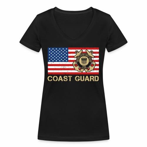 Coast Guard - Frauen Bio-T-Shirt mit V-Ausschnitt von Stanley & Stella