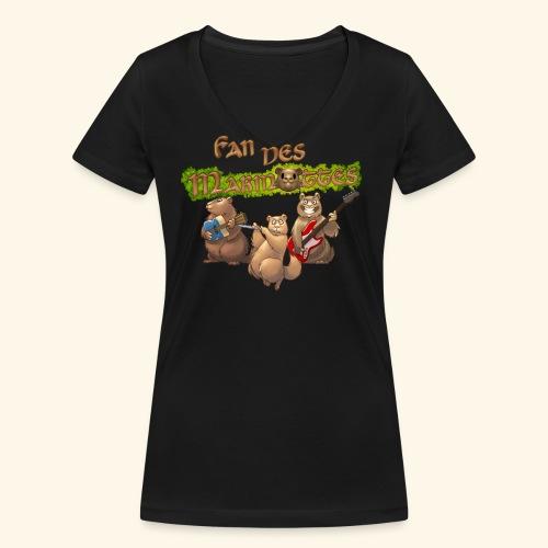 Tshirt fans - T-shirt bio col V Stanley & Stella Femme