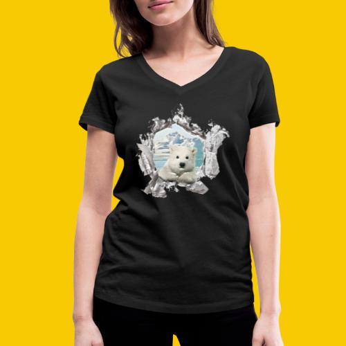OURS - T-shirt bio col V Stanley & Stella Femme