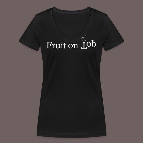 GBIGBO zjebeezjeboo - Fleur - Fruit [FlexPrint] - T-shirt bio col V Stanley & Stella Femme