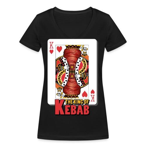 The King Of Kebab (Cotto & Frullato) T-Shirt Uomo - T-shirt ecologica da donna con scollo a V di Stanley & Stella