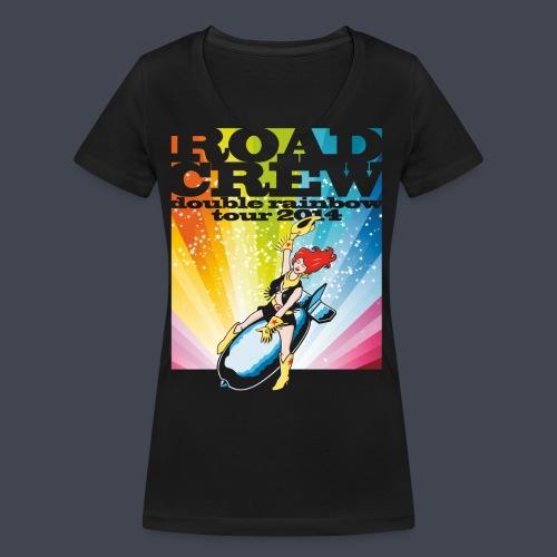 double rainbow tour - Frauen Bio-T-Shirt mit V-Ausschnitt von Stanley & Stella