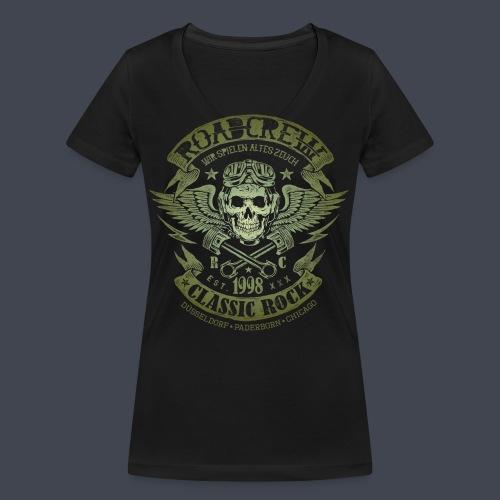 altes-zeuch-army - Frauen Bio-T-Shirt mit V-Ausschnitt von Stanley & Stella