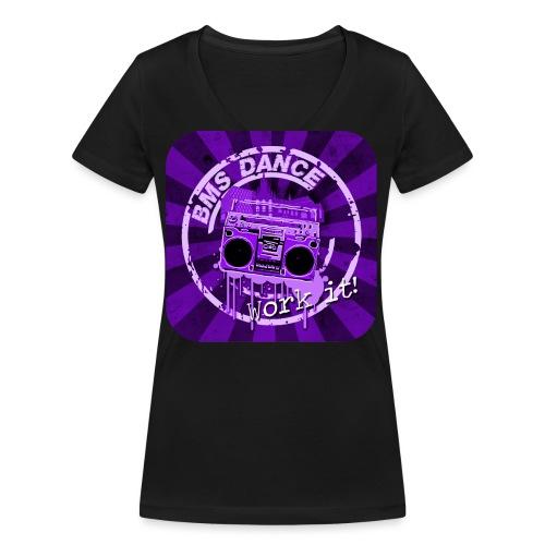 BMS Dance - Vrouwen bio T-shirt met V-hals van Stanley & Stella