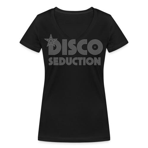 Disco Seduction - Frauen Bio-T-Shirt mit V-Ausschnitt von Stanley & Stella