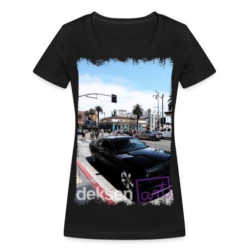 Los Angeles Part 3 - Vrouwen bio T-shirt met V-hals van Stanley & Stella