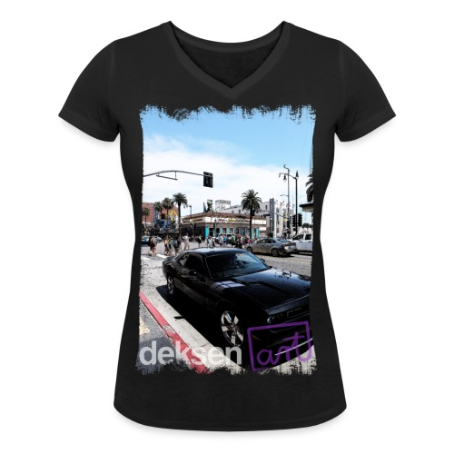 Los Angeles Part 3 - Women's Organic V-Neck T-Shirt by Stanley & Stella