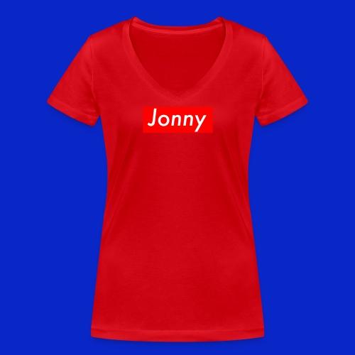 Jonny - Women's Organic V-Neck T-Shirt by Stanley & Stella