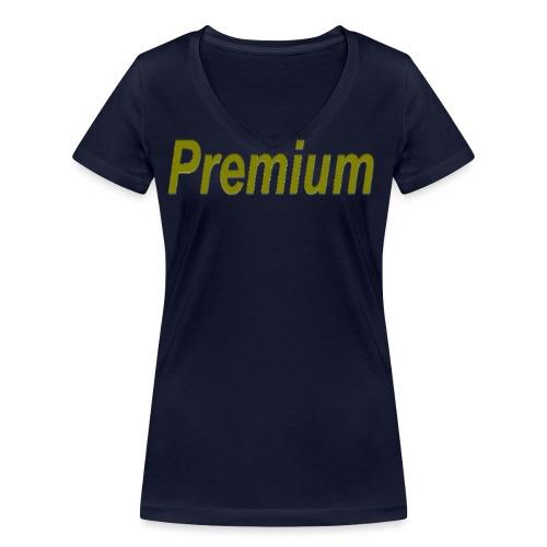 Premium - Women's Organic V-Neck T-Shirt by Stanley & Stella