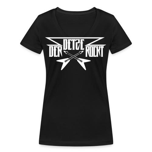 DDR - Frauen Bio-T-Shirt mit V-Ausschnitt von Stanley & Stella