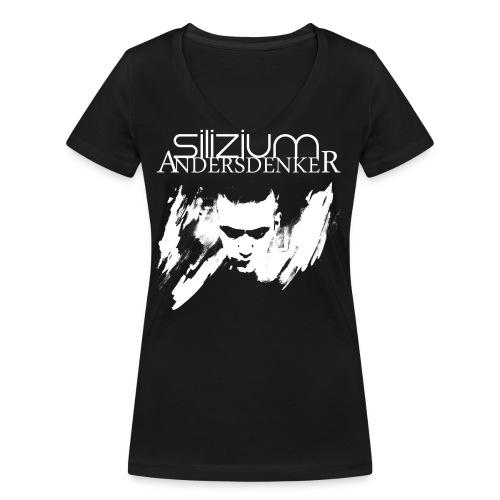 SI AD T SHIRTFRONTBIG png - Frauen Bio-T-Shirt mit V-Ausschnitt von Stanley & Stella