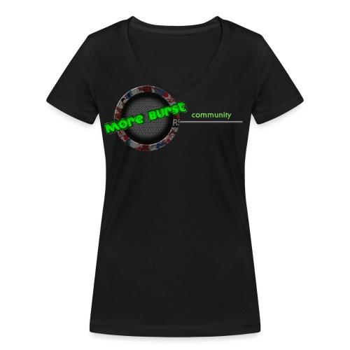 Burst_1_end - Frauen Bio-T-Shirt mit V-Ausschnitt von Stanley & Stella