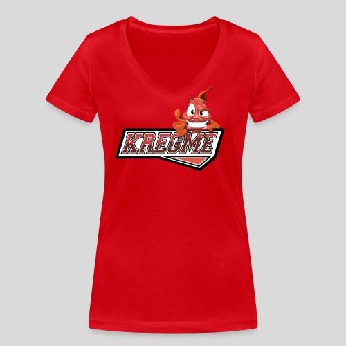 none - Økologisk Stanley & Stella T-shirt med V-udskæring til damer