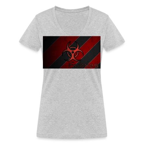 4kbanner - Camiseta ecológica mujer con cuello de pico de Stanley & Stella