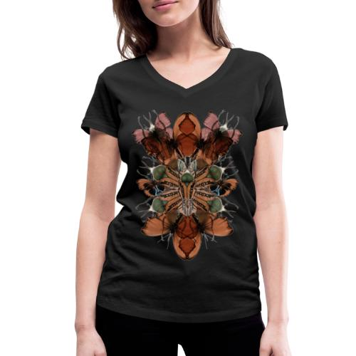 metamorfosi - T-shirt ecologica da donna con scollo a V di Stanley & Stella