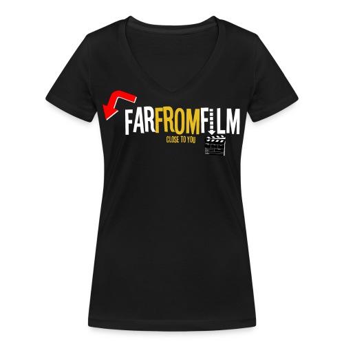 FarFromFilm FB 1 wht - Women's Organic V-Neck T-Shirt by Stanley & Stella