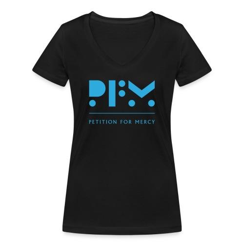 PFM_logo_video - Women's Organic V-Neck T-Shirt by Stanley & Stella