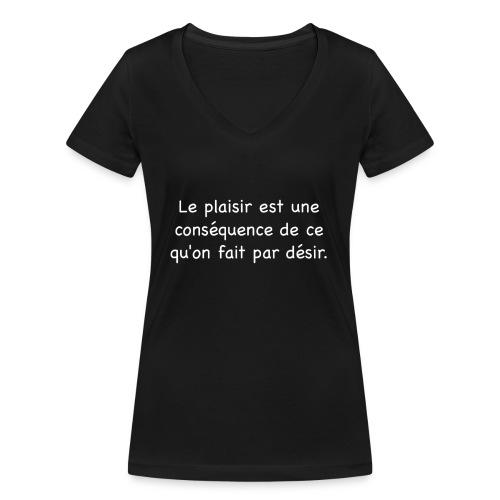 pp png - T-shirt bio col V Stanley & Stella Femme