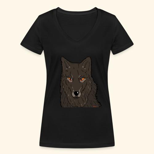 HikingMantis - Økologisk Stanley & Stella T-shirt med V-udskæring til damer
