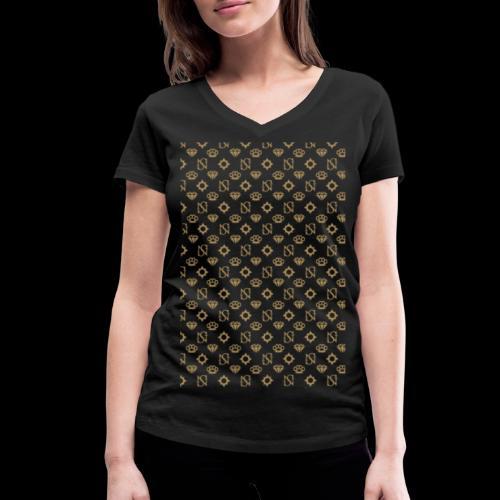 SessantaNove Logo Classico - T-shirt ecologica da donna con scollo a V di Stanley & Stella