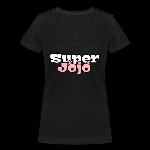 SuperJojo - Women's Organic V-Neck T-Shirt by Stanley & Stella