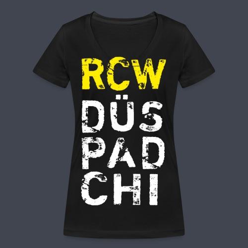 rcw-gelb2 - Frauen Bio-T-Shirt mit V-Ausschnitt von Stanley & Stella