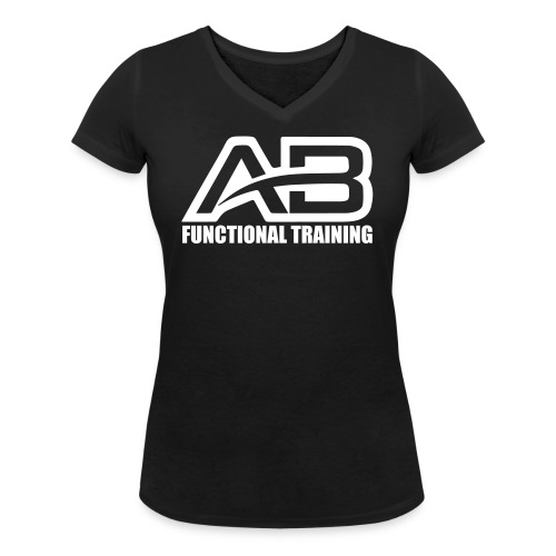 DEF_AB_DARK_BACKGROUND - T-shirt ecologica da donna con scollo a V di Stanley & Stella